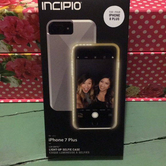 new product 396d7 c4fd5 😁 iPhone 7 Plus / 8 Plus Light-up case by:Incipio NWT